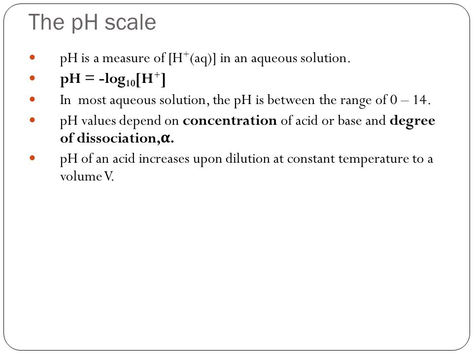 how to find the ph of an aqueous solution